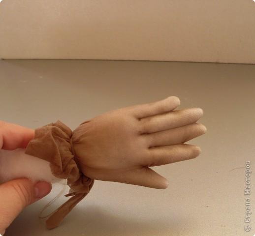 Скульптура: Делаем куклу. Ручки...... Фото 15