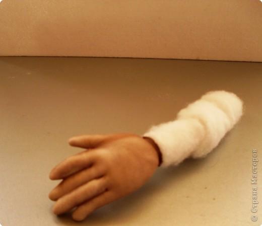 Скульптура: Делаем куклу. Ручки...... Фото 17