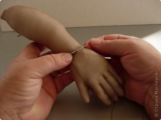 Скульптура: Делаем куклу. Ручки...... Фото 19