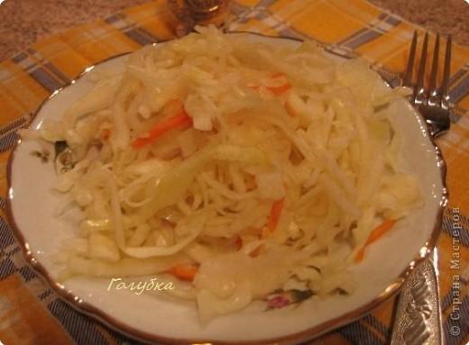 Рецепт кулинарный: Капуста трехдневка