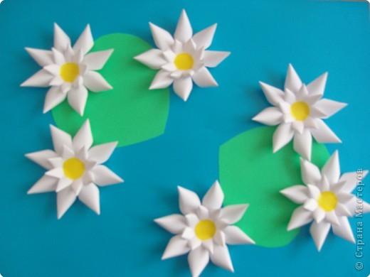 Аппликация: Цветная бумага Бумага Отдых.  Фото 1.