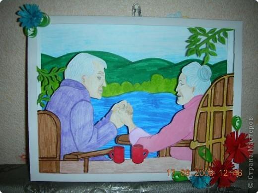 Своими руками открытка к дню пожилого человека