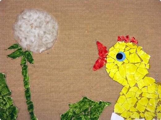 Поделка из яичной скорлупы детям