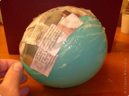 Папье-маше на шарике