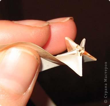 Мастер-класс Плетение: Плетеная звезда. Фото 12