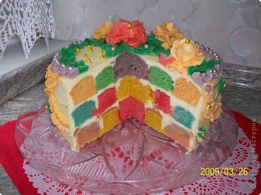 Рецепт торта на день рождения своими руками с пошаговое