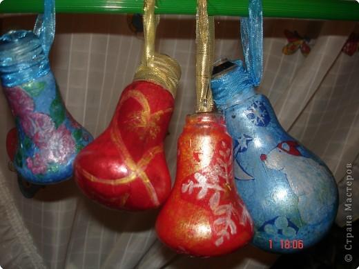 Фото ёлочных игрушек своими руками из лампочек