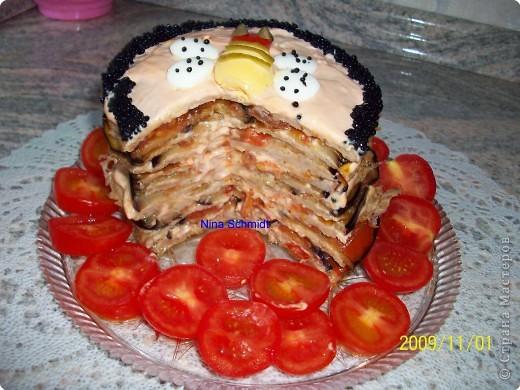 Кулинария: Котлетный тортик.. Фото 3