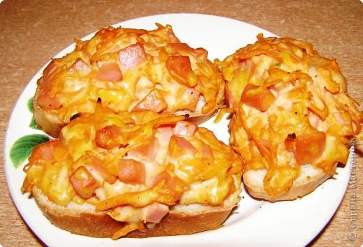 Кулинария, Мастер-класс Рецепт кулинарный: Мини-пицца бутербродная.. Фото 1