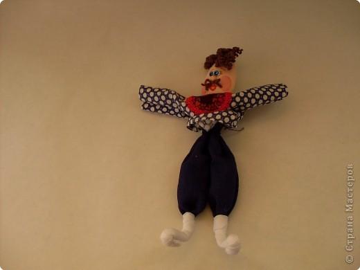 Шитьё: Кукла из пластиковой ложки. Мастер-класс.