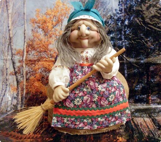 Баба на чайнике фото своими руками