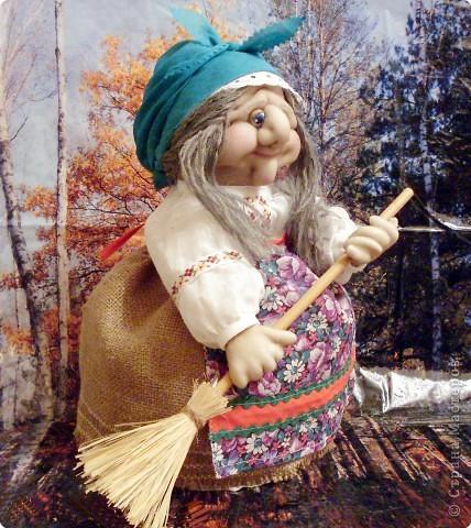 Куклы Шитьё: Ягуся Любаша Ткань День рождения. Фото 2