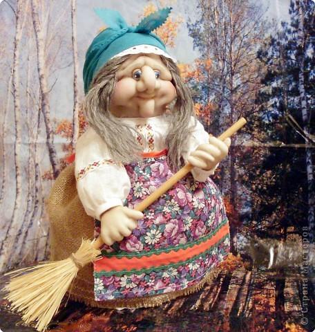 Куклы Шитьё: Ягуся Любаша Ткань День рождения. Фото 1