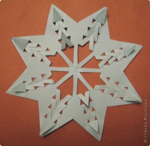 Вырезание: Снежинки из кругов