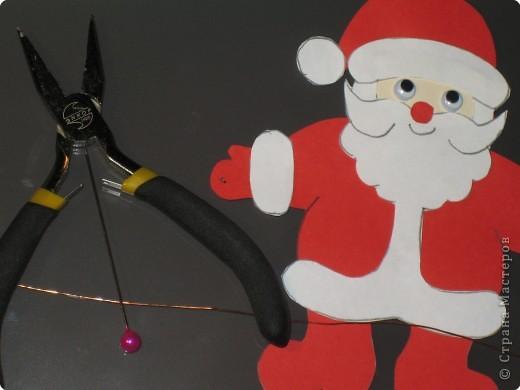 Мастер-класс, Открытка Аппликация, Вырезание силуэтное: 4 декабря - День заказов подарков Деду Морозу (Новогодняя гирлянда). Бумага Новый год, Рождество. Фото 14