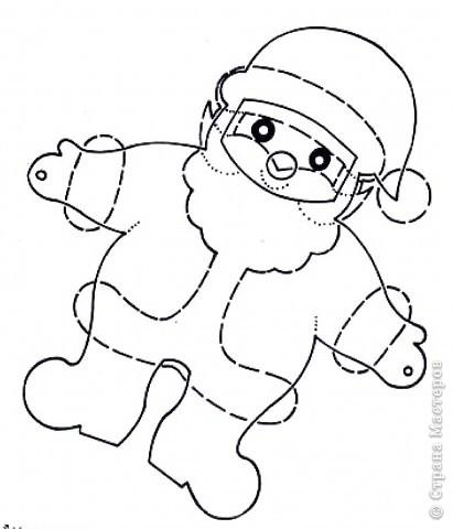 Мастер-класс, Открытка Аппликация, Вырезание силуэтное: 4 декабря - День заказов подарков Деду Морозу (Новогодняя гирлянда). Бумага Новый год, Рождество. Фото 3