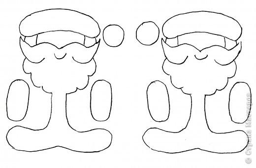 Мастер-класс, Открытка Аппликация, Вырезание силуэтное: 4 декабря - День заказов подарков Деду Морозу (Новогодняя гирлянда). Бумага Новый год, Рождество. Фото 6