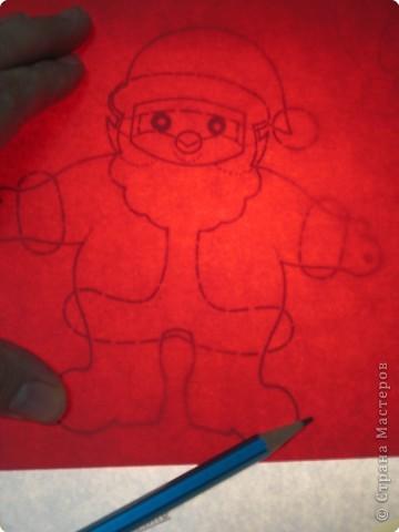 Мастер-класс, Открытка Аппликация, Вырезание силуэтное: 4 декабря - День заказов подарков Деду Морозу (Новогодняя гирлянда). Бумага Новый год, Рождество. Фото 8