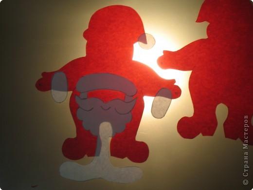 Мастер-класс, Открытка Аппликация, Вырезание силуэтное: 4 декабря - День заказов подарков Деду Морозу (Новогодняя гирлянда). Бумага Новый год, Рождество. Фото 9