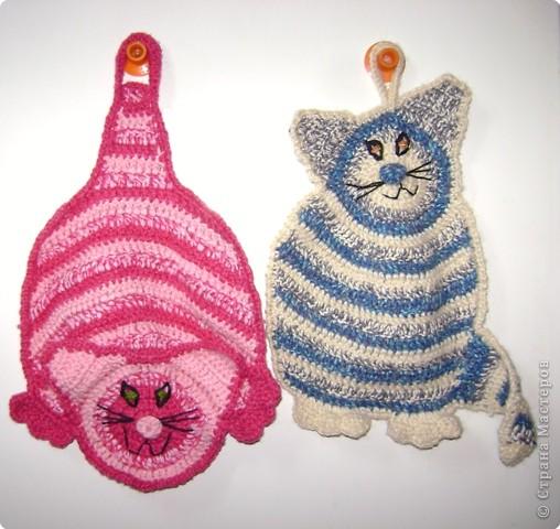 Вязание крючком: Котики -