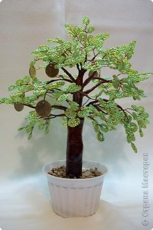 Бисероплетение: Деревья из