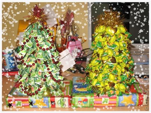 Декор предметов, Мастер-класс: Сладкая Ёлка Мастер Класс Новый год, Рождество. Фото 1