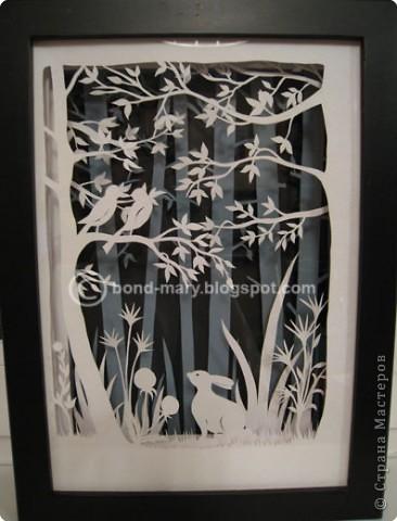 Бумажный туннель, Вырезание: В лесу Бумага. Фото 1