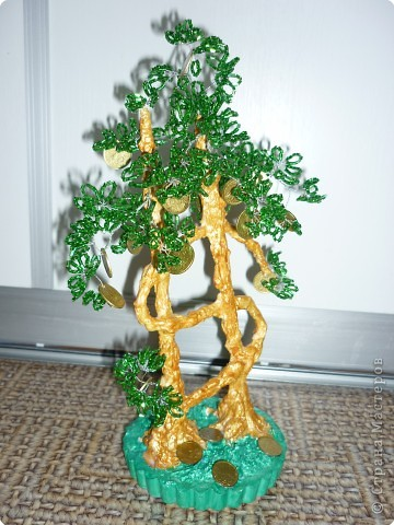 дерево из бисера Бисер,