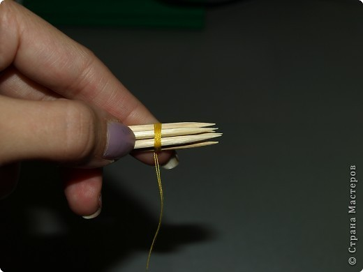Торцевание: дерево в технике торцевание МАСТЕР-КЛАСС