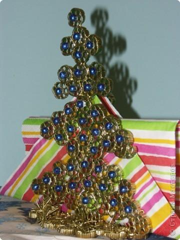 Мастер-класс: Макаронная фантазия «Салфетница» МК. Продукты пищевые Новый год. Фото 2