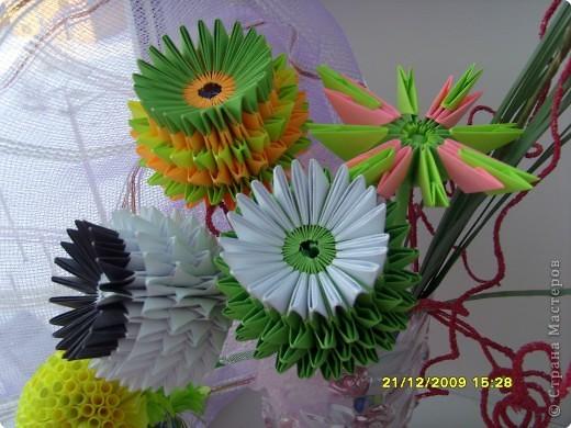 Мастер-класс Оригами модульное: Вот и мой цветочек... МК. Фото 1