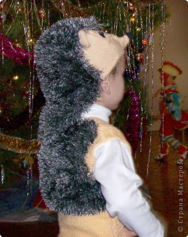 Костюм ежика своими руками для мальчика фото
