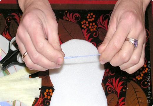 Мастер-класс, Педагогический опыт, Раннее развитие Торцевание, : Нетрадиционная работа с бумажными салфетками. Пенопласт, Салфетки . Фото 2