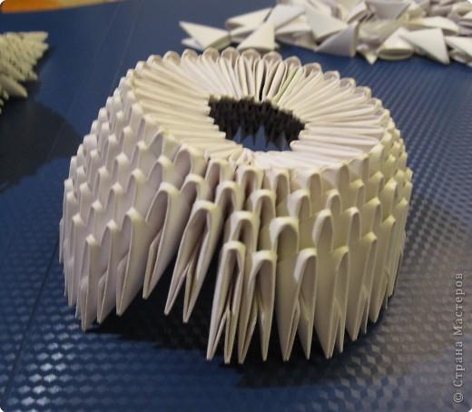 Мастер-класс Оригами модульное: Очень умная сова. МК.. Фото 4
