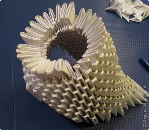 Мастер-класс Оригами модульное: Очень умная сова. МК.. Фото 10