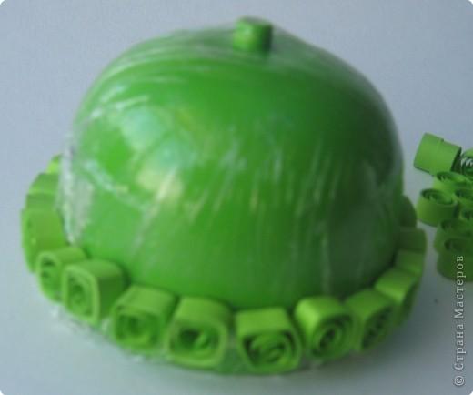 Мастер-класс Квиллинг: МК Дорого яйчко к Христову праздничку. Бумага Пасха. Фото 11