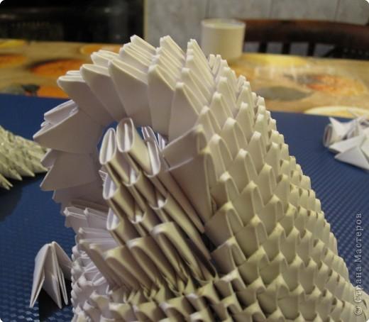 Мастер-класс Оригами модульное: Очень умная сова. МК.. Фото 19