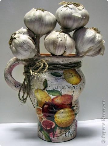Декор предметов, Мастер-класс Декупаж: Кракле без кракелюрных лаков. Салфетки. Фото 1