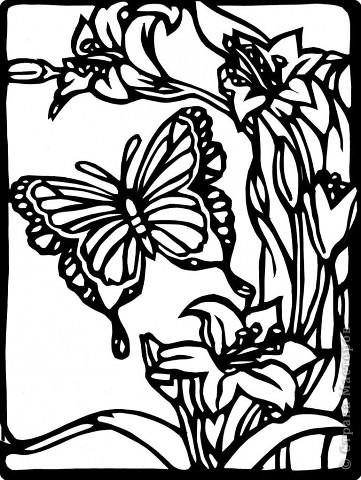 Вытынанка: ВЫТЫНАНКИ флора и