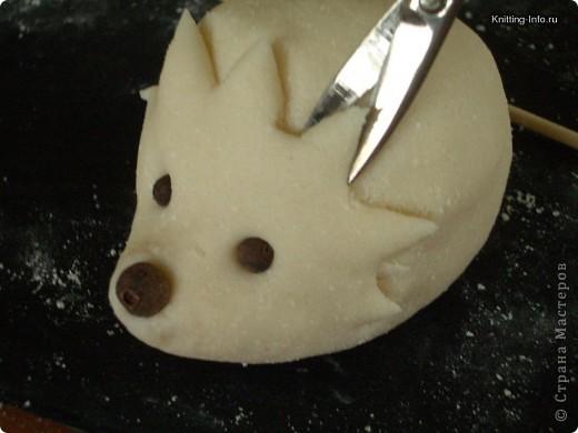 Мастер-класс Лепка: Ежики из соленого теста Тесто соленое. Фото 3