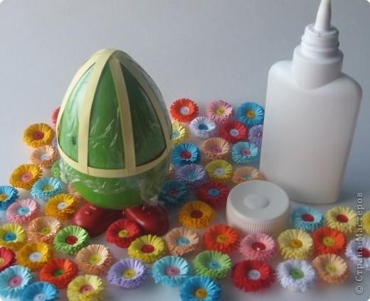 Мастер-класс Квиллинг: МК Дорого яйчко к Христову праздничку. Бумага Пасха. Фото 4