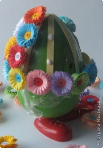 Мастер-класс Квиллинг: МК Дорого яйчко к Христову праздничку. Бумага Пасха. Фото 6