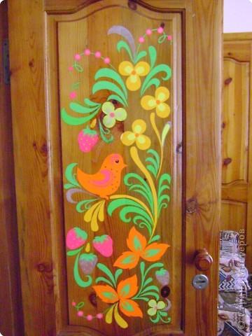 Как разукрасить дверь
