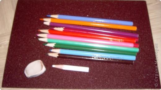 Мастер-класс Рисование и живопись: Мастер-класс рисунок на наждачной бумаге Карандаш. Фото 1