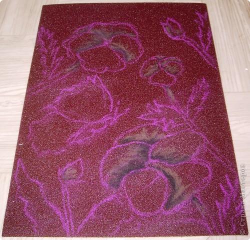 Мастер-класс Рисование и живопись: Мастер-класс рисунок на наждачной бумаге Карандаш. Фото 4