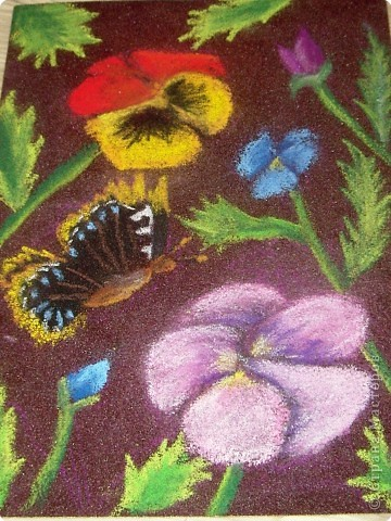 Мастер-класс Рисование и живопись: Мастер-класс рисунок на наждачной бумаге Карандаш. Фото 7