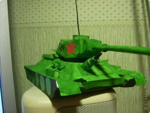 Сделать поделку танка