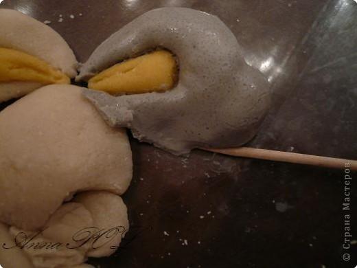 Мастер-класс Лепка: Мастер-класс по лепке зайчика Тесто соленое. Фото 12