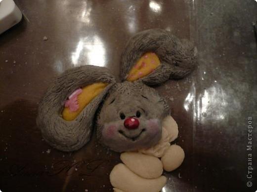 Мастер-класс Лепка: Мастер-класс по лепке зайчика Тесто соленое. Фото 22