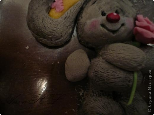 Мастер-класс Лепка: Мастер-класс по лепке зайчика Тесто соленое. Фото 28